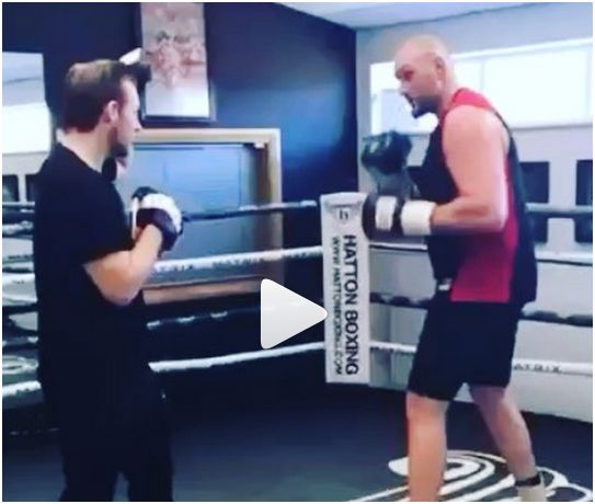 Fans Very Impressed With This Latest Tyson Fury Video